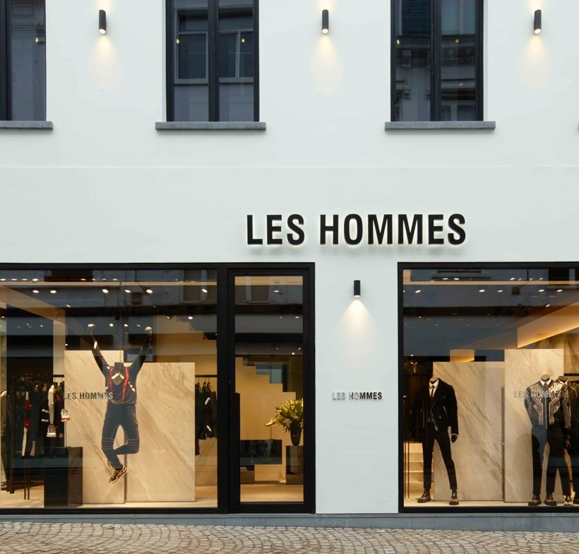 Flagship store Les Hommes ad Anversa
