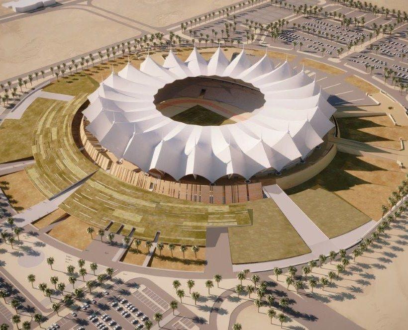 Ampliamento per il  King Fahd Stadium di Riyadh