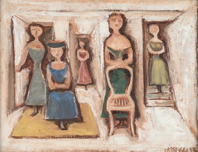Artisti italiani dal secondo dopoguerra agli anni Sessanta