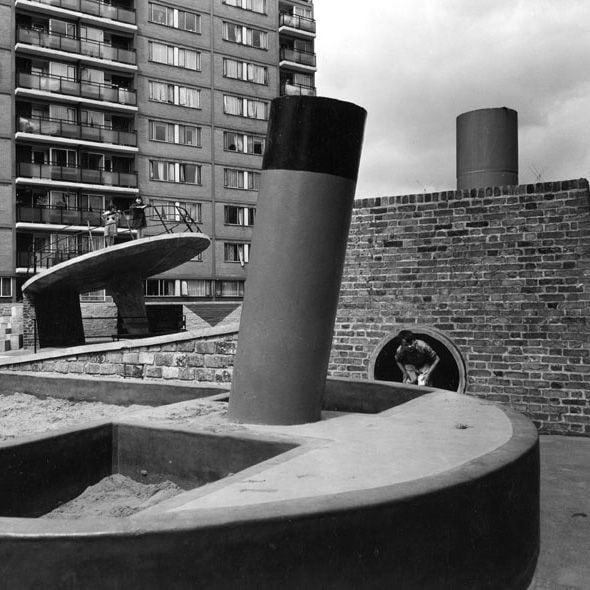 The Brutalist Playground