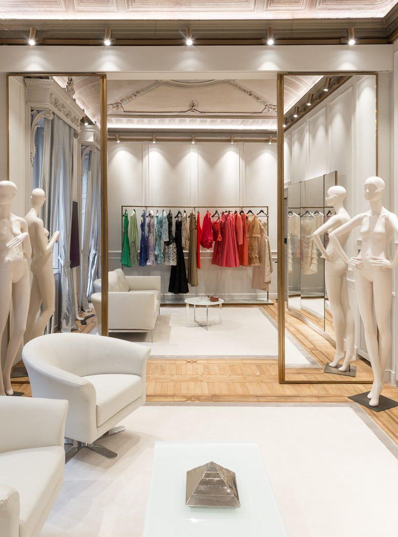 Il nuovo atelier Curiel a Milano