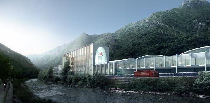 S.Pellegrino Flagship Factory