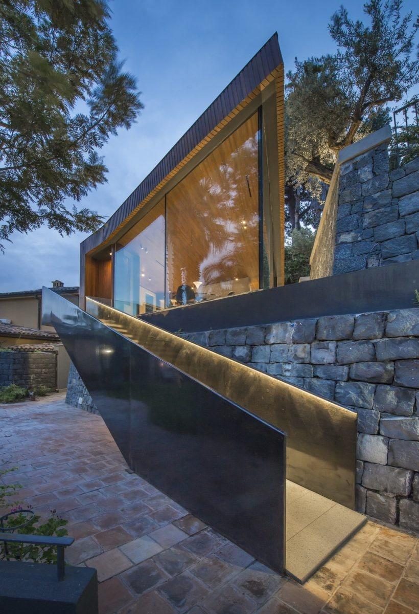 Quando l'architettura si fonde nella natura