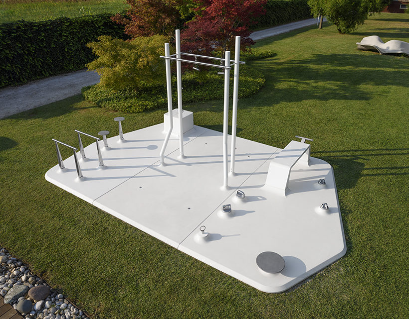 MyIsle, the Outdoor Gym Sculpture