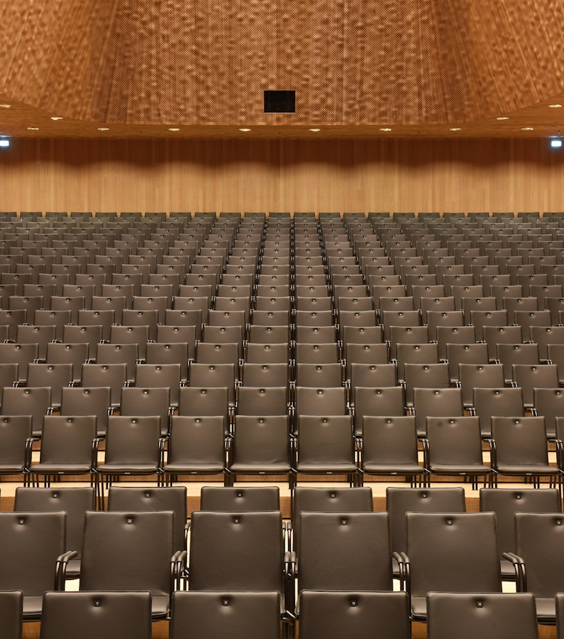 Grande flessibilità per l'Elbphilharmonie