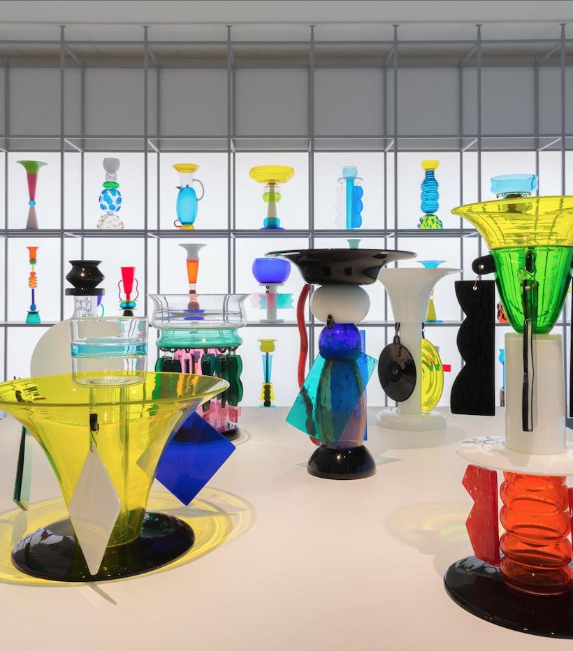 Ettore Sottsass: il vetro