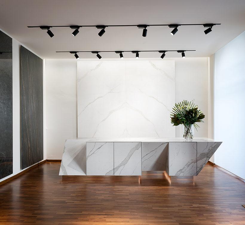 Nuovo spazio Laminam a Milano