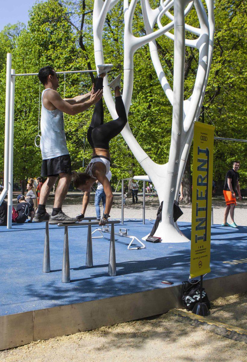 Design Fitness al parco