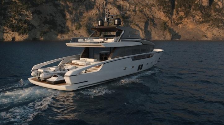 SX88, il nuovo concept di Motoryacht Crossover
