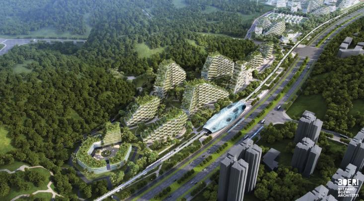 La prima Città Foresta in Cina