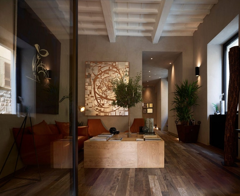 Green boutique hotel
