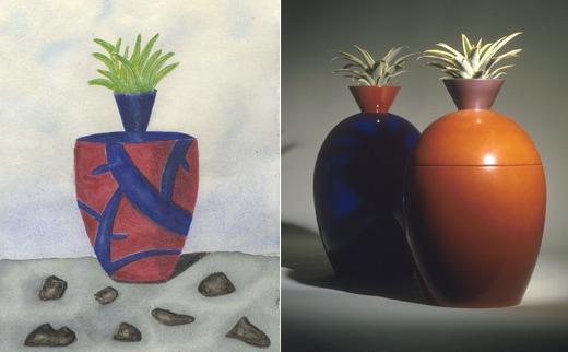 Vasi e cose. Porcellane, terre e carta