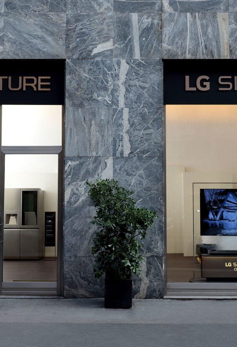 LG Signature a Milano