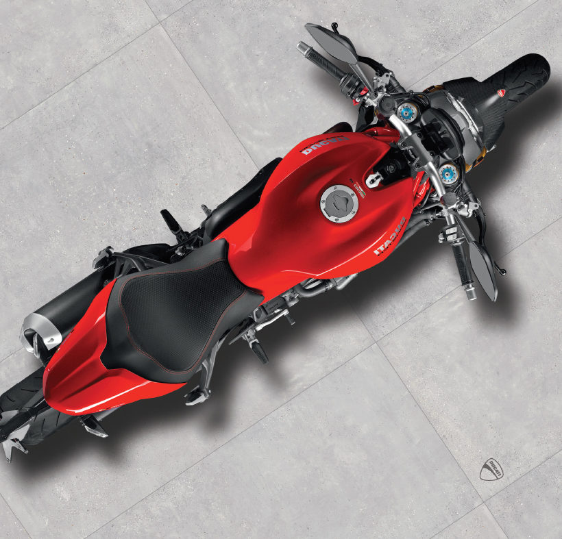 Ducati e GS Luxury Group per innovativi pavimenti in ceramica