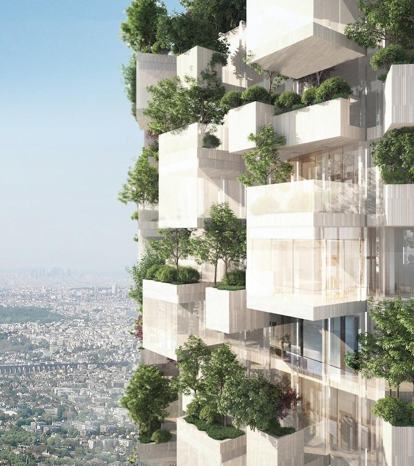 Anche Parigi avrà il suo Bosco Verticale
