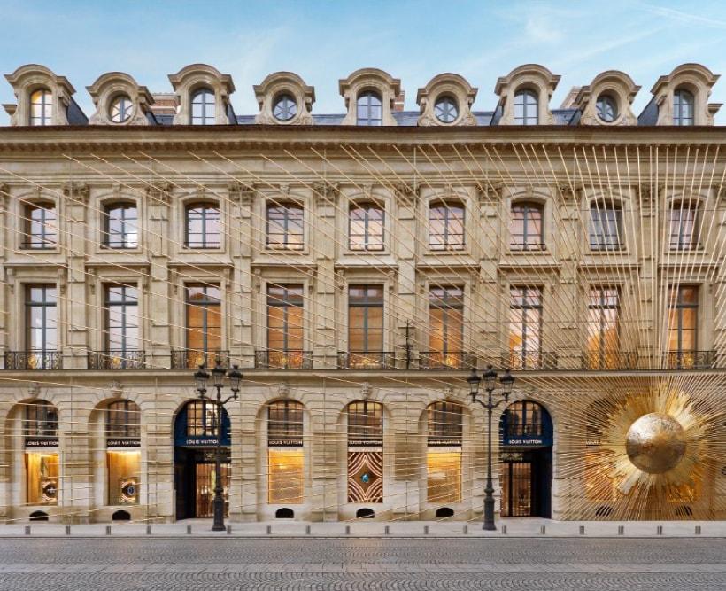 Maison Louis Vuitton Vendome a Parigi