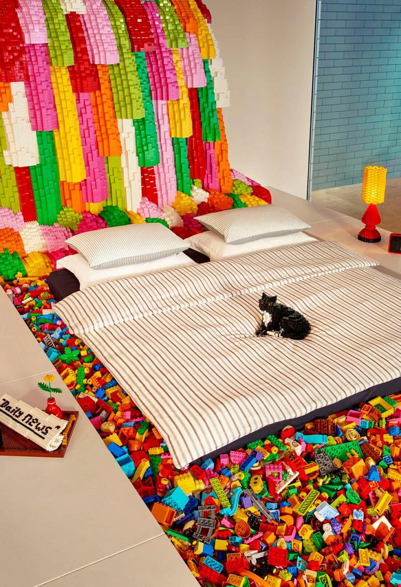 Una notte nella Lego House