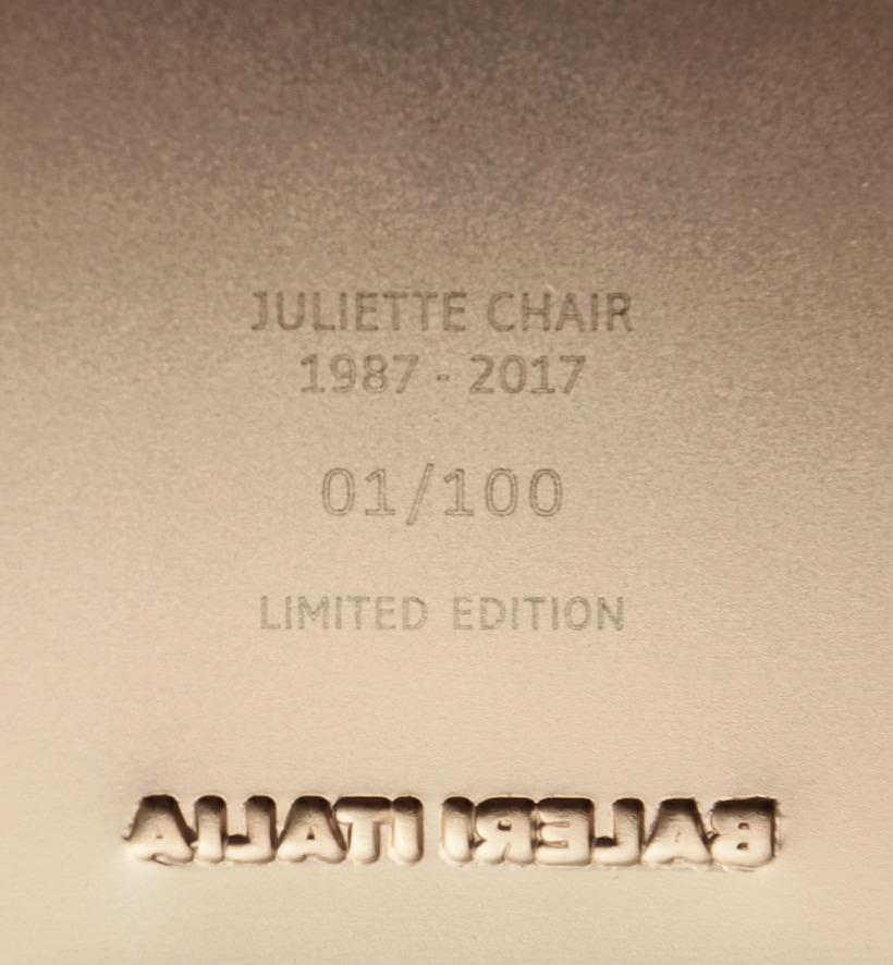 I 30 anni di Juliette Chair