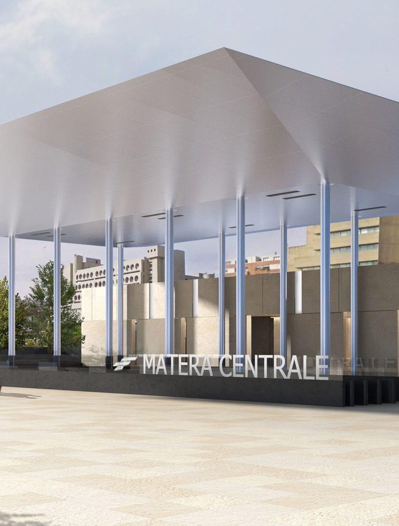 La nuova stazione di Matera