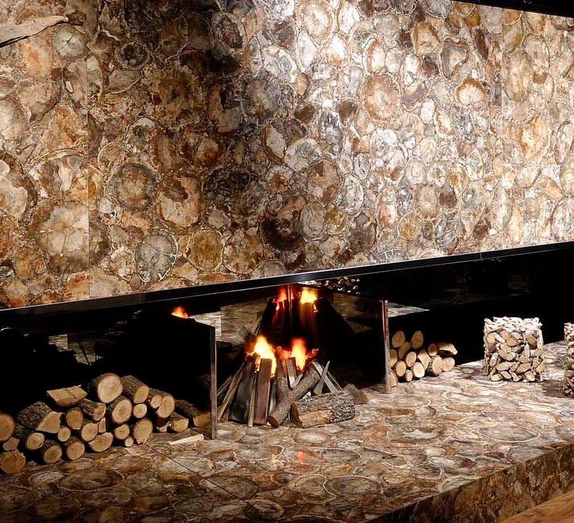 Tra pietra e legno