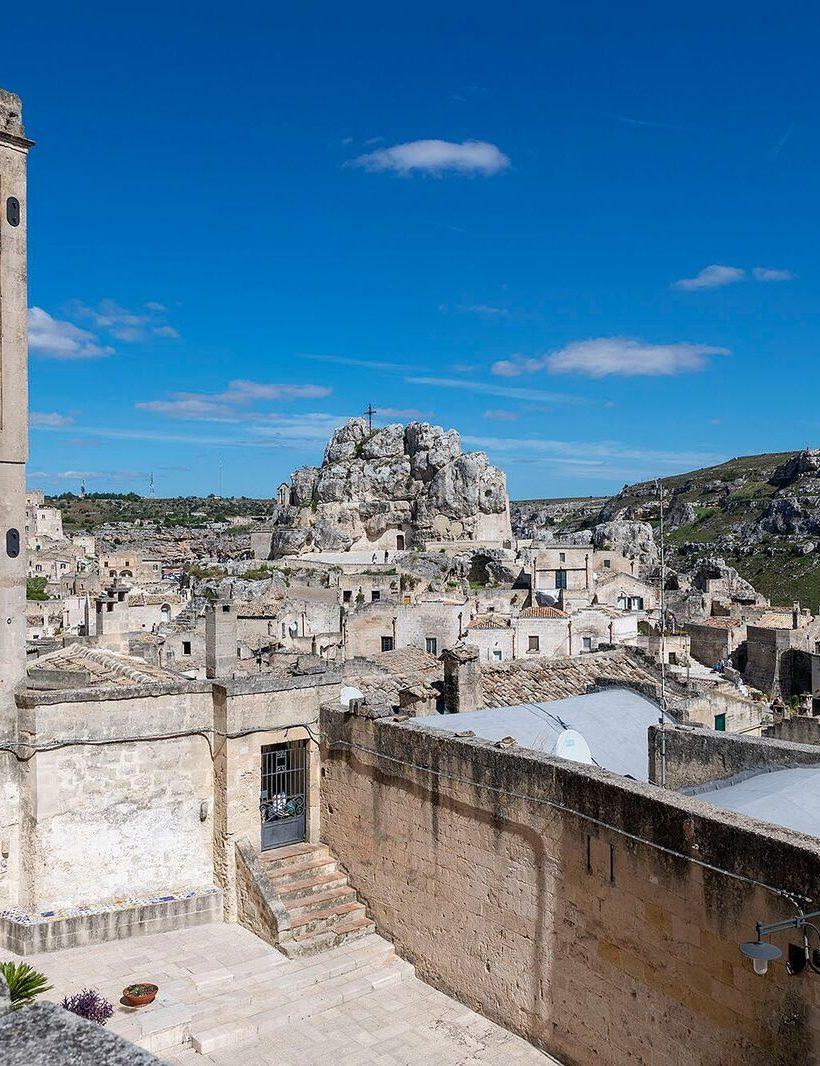 Un borgo sui Sassi di Matera