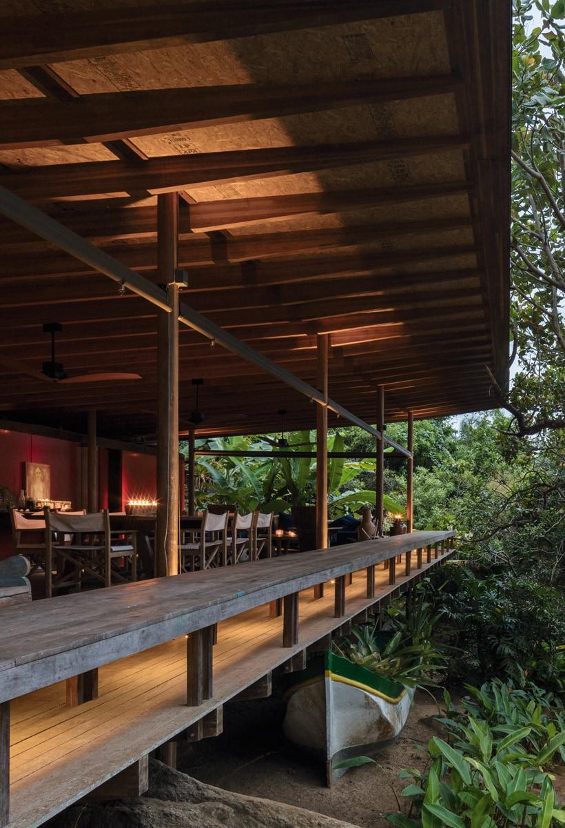 La cabana di Thiago Bernardes