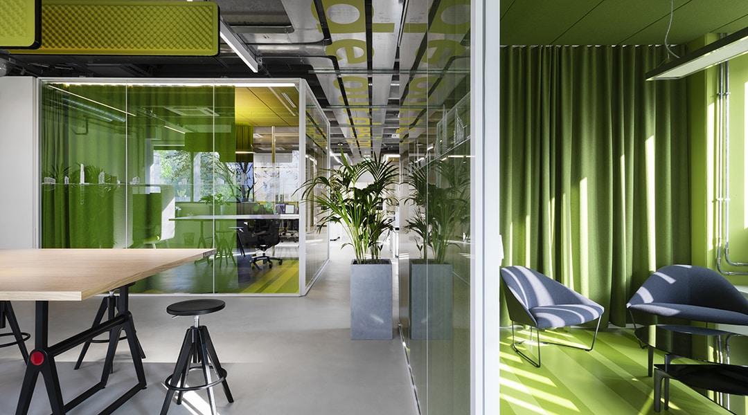 Headquarters Progetto CMR interiors
