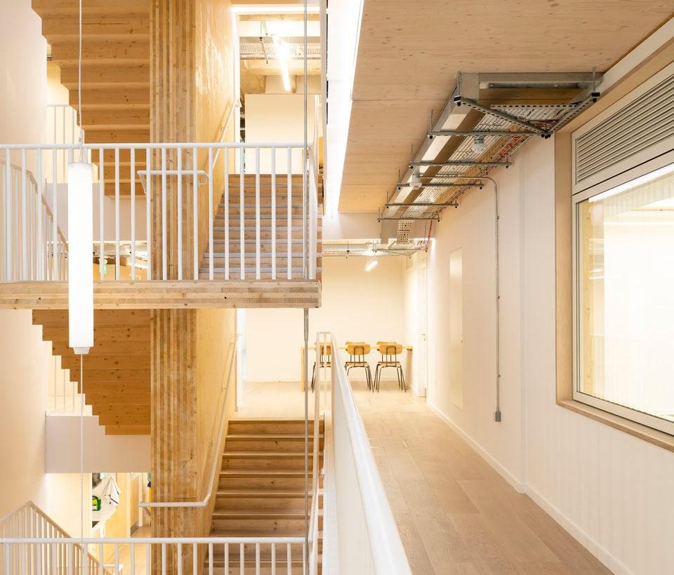 Cambridge Heath by Waugh Thistleton Architects. Copyright Jim Stephenson 2018