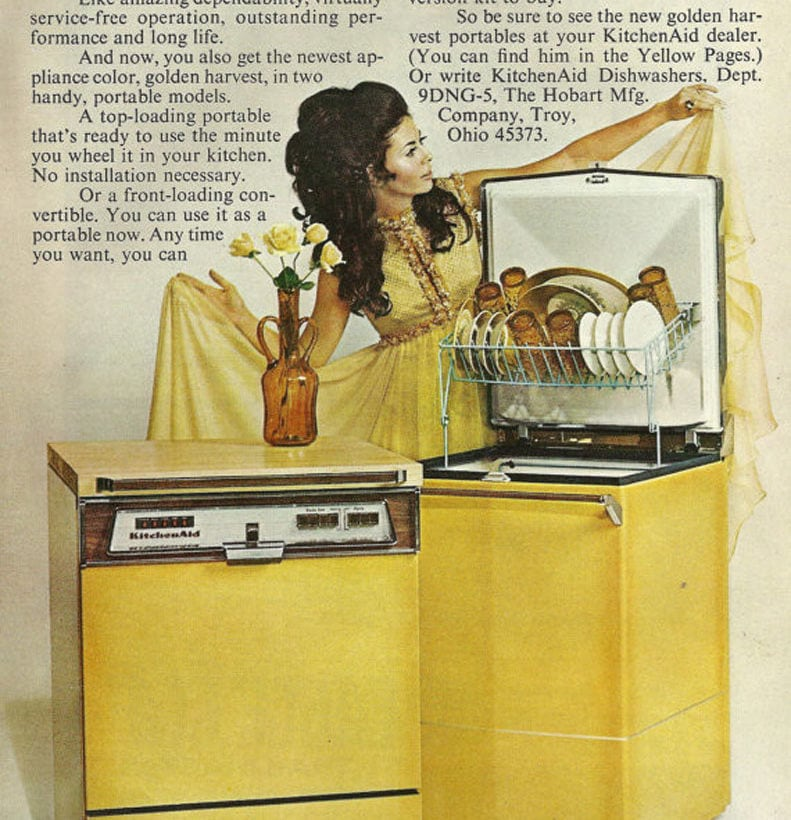 KitchenAid_Lavastoviglie Golden Harvest 1970