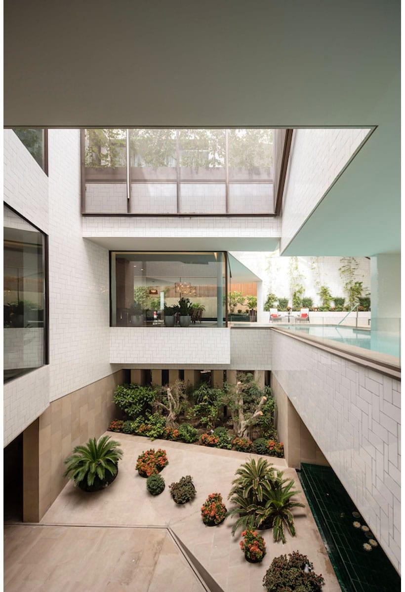 Three Gardens House