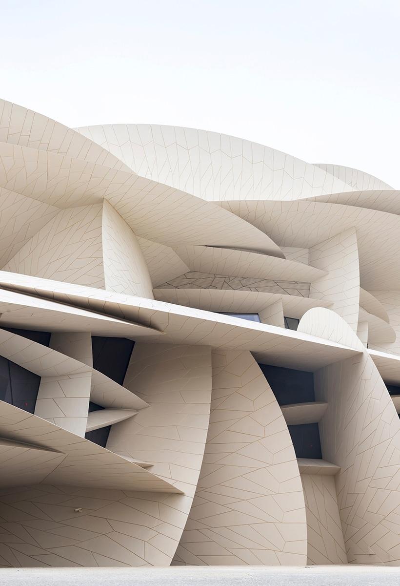 Lavorare In Qatar Architetto jean nouvel: rosa del deserto - interni magazine