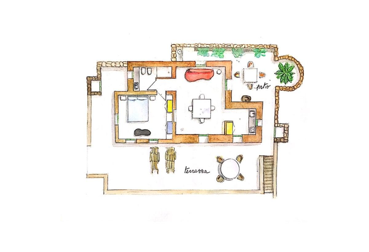 casa Linosa progetto 1