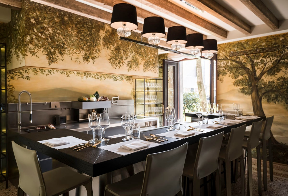 Aman Venice, Italy – Palazzo Kitchen Table