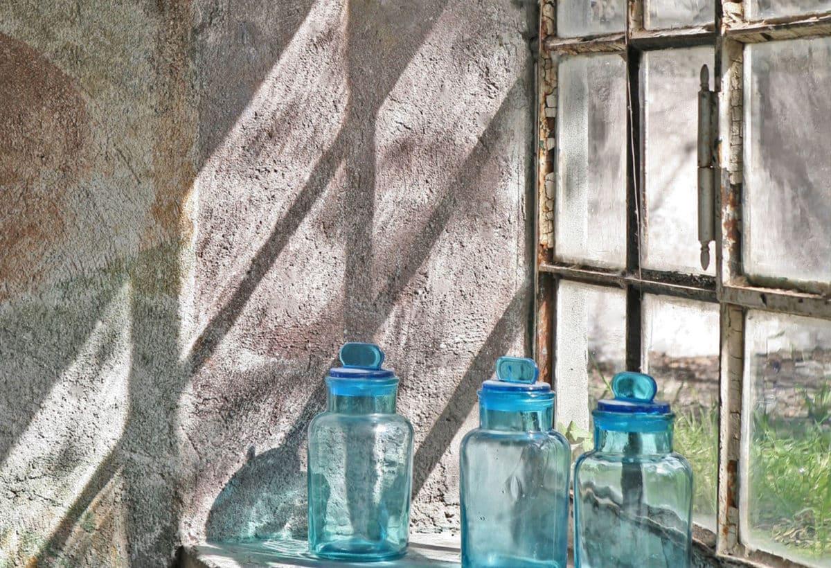 Vera Rossi, Blue afternoon, 2019, cm 58×70