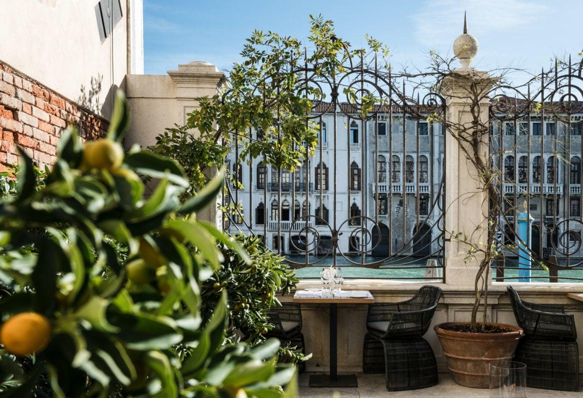 Aman Venice, Italy – Garden Terrace