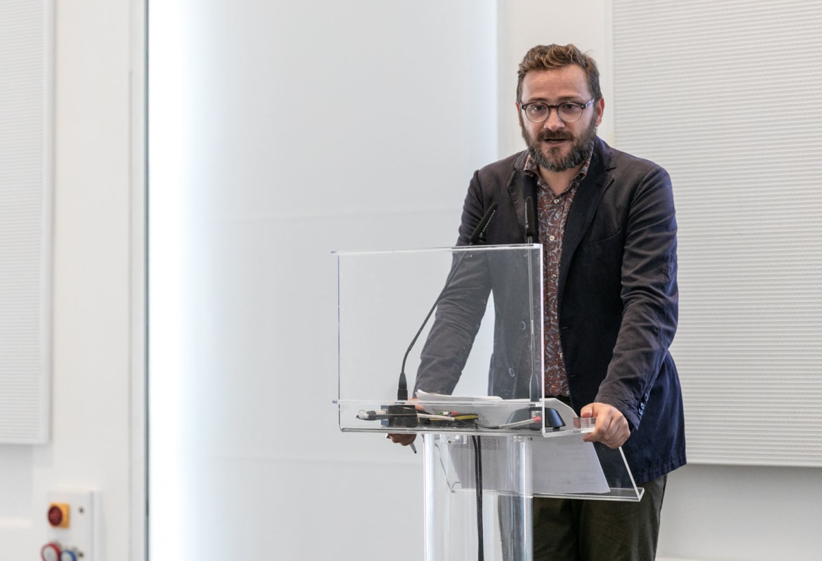 Marco Sammicheli – © Triennale Milano – foto Gianluca Di Ioia