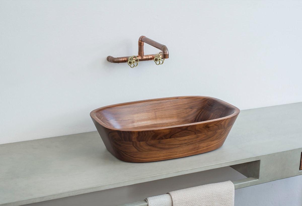 10.Pure luxury Spa collection single washbasin, Nina Mair, Tischlerei Gabriel Forcher, 2014