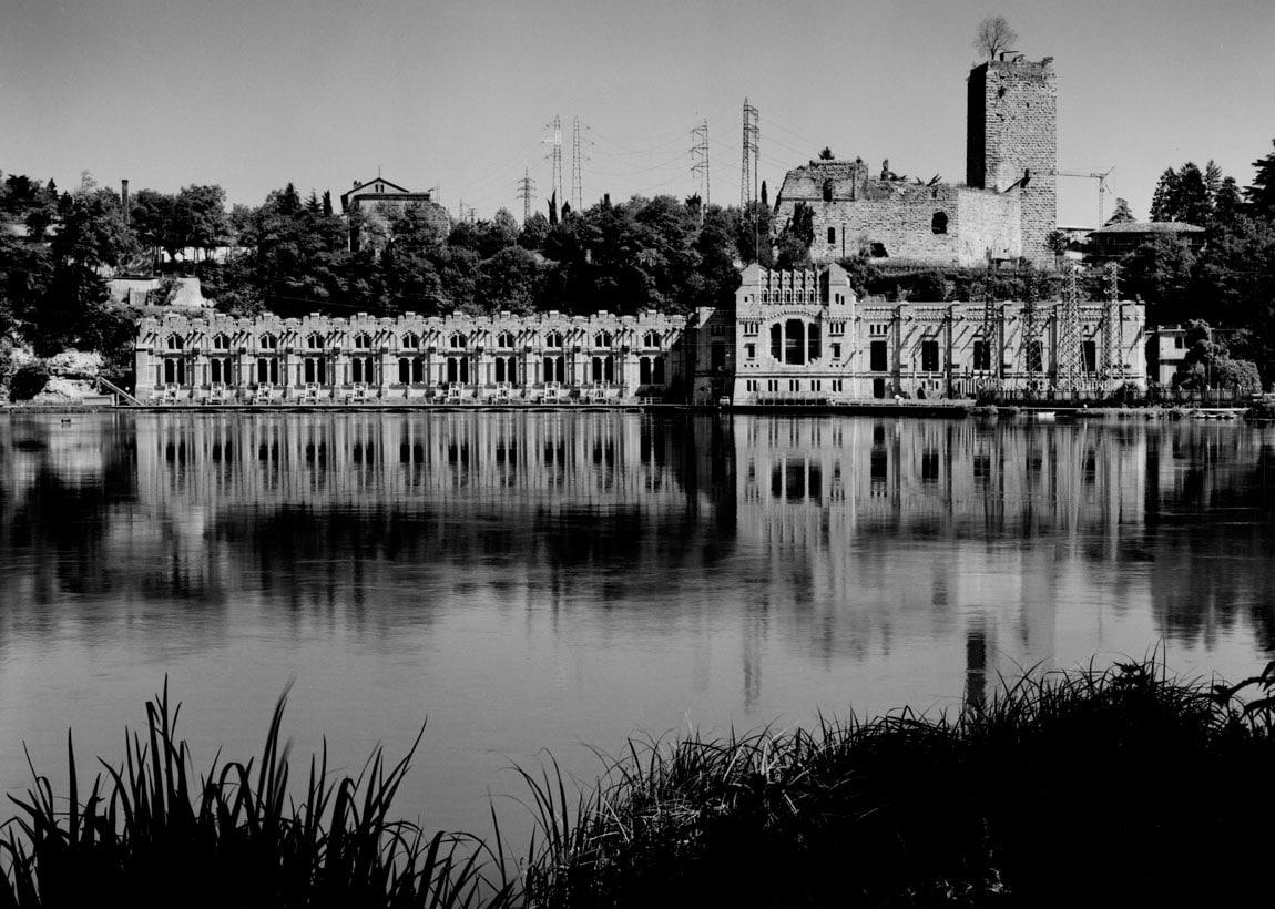 Francesco Radino_Centrale Idroelettrica Alessandro Taccani_1985_Archivio storico fotografico Aem_Fondazione Aem-Gruppo A2A_Milano
