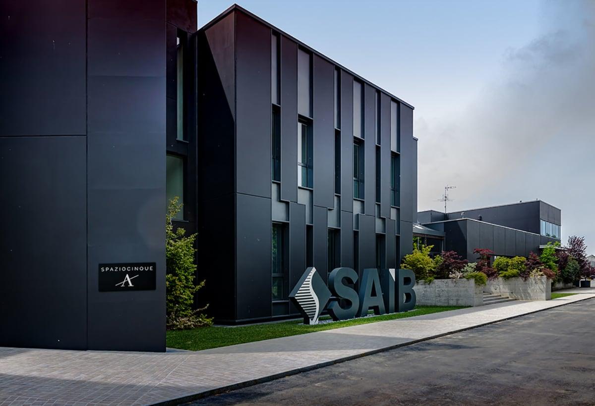SAIB showroom_fronte esterno