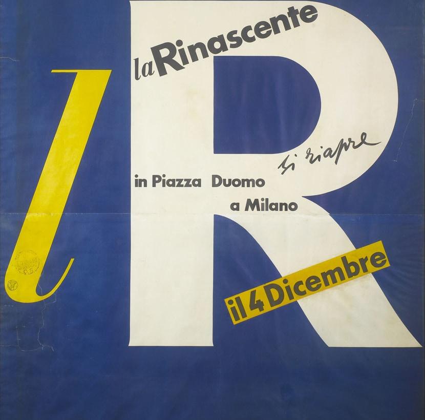 3. lR. Si riapre in P.zza Duomo_Manifesto_1950
