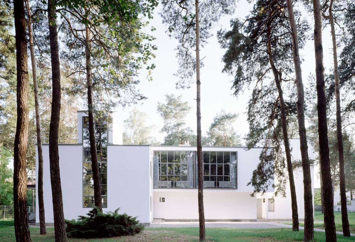 4_Foto Hans Engels_Masters Houses, Klee + Kandinsky, Dessau, 1925 by Walter Gropius