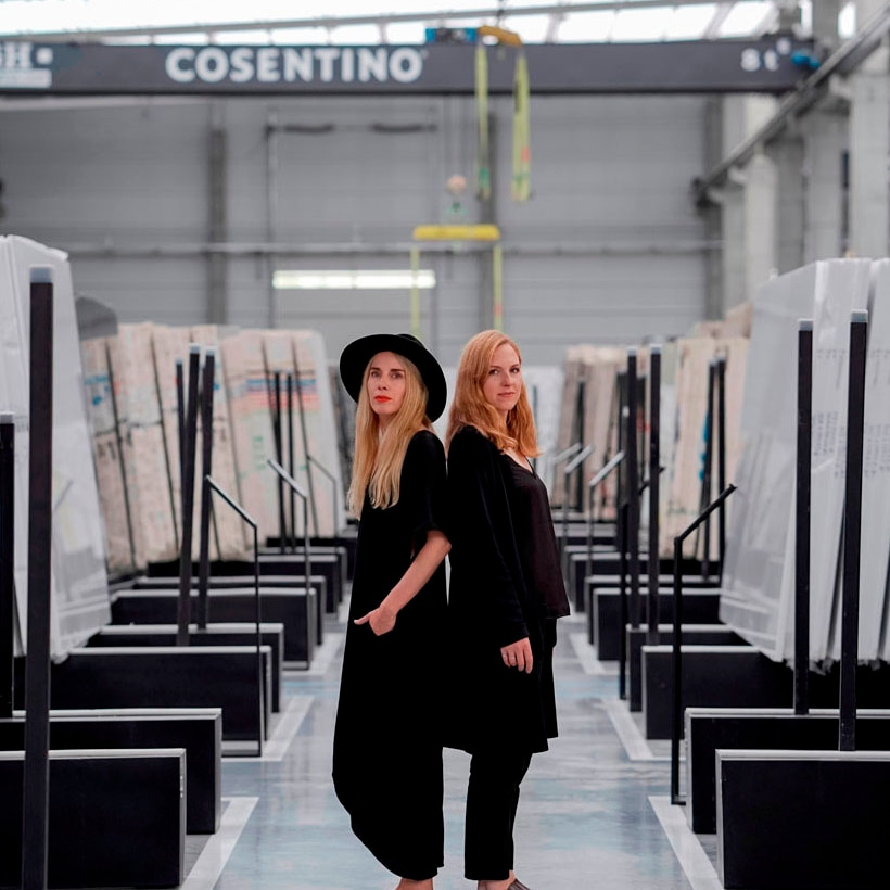 PATTERNITY at the Cosentino factory in Almeria. Image Credit – Alberto Rojas