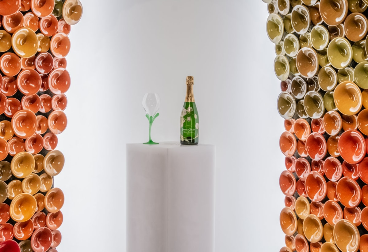 Perrier Jouet Booth Miami_07, by Andrea Mancuso, Design Miami 2019