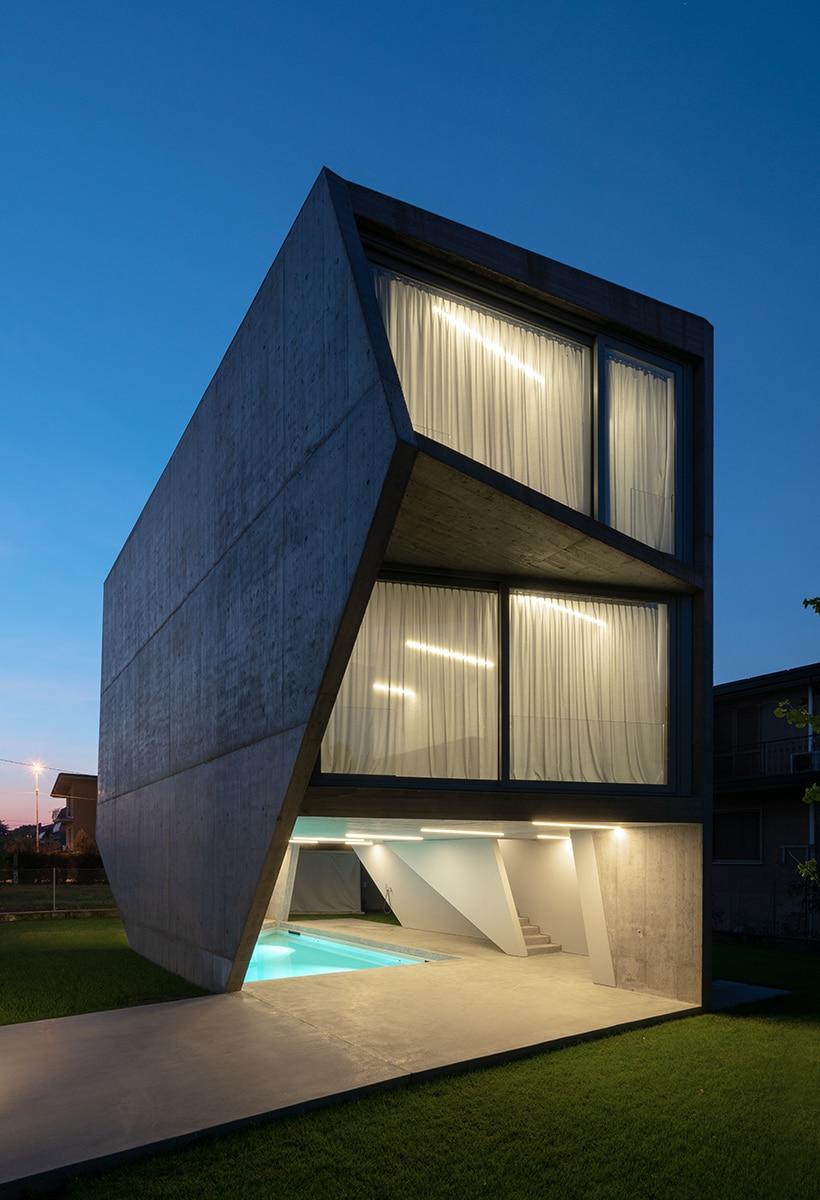 Casari Architetti, rapsodia in cemento