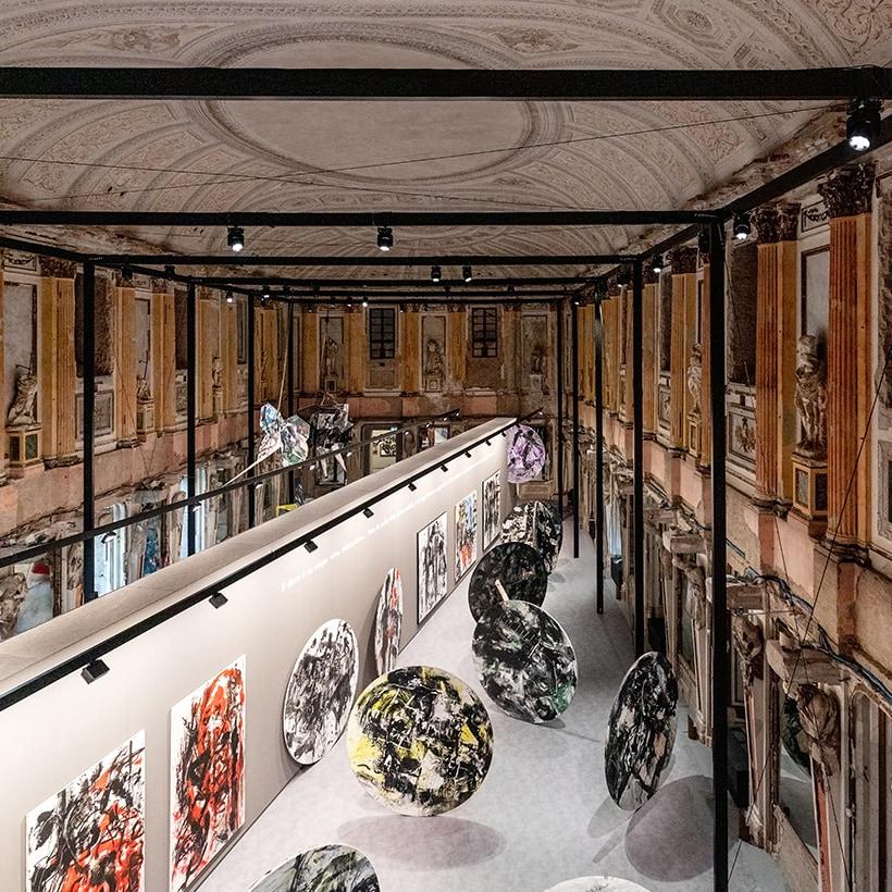 02_Emilio Vedova a Palazzo Reale ©Marco Cappelletti per Alvisi Kirimoto
