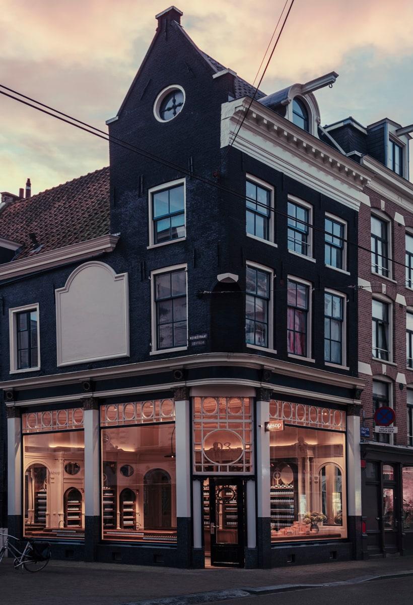 Aesop ad Amsterdam