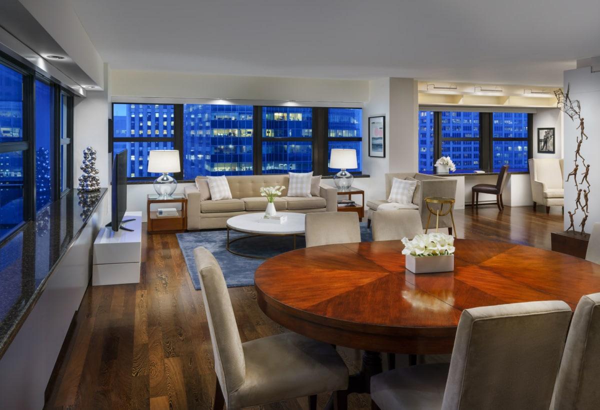 Hastens Suite_ Living Area