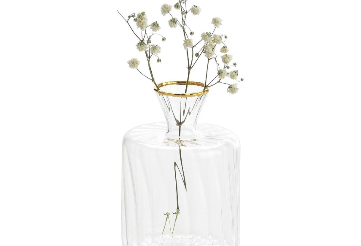 Vaso in vetro di piccole dimensioni Plinn
