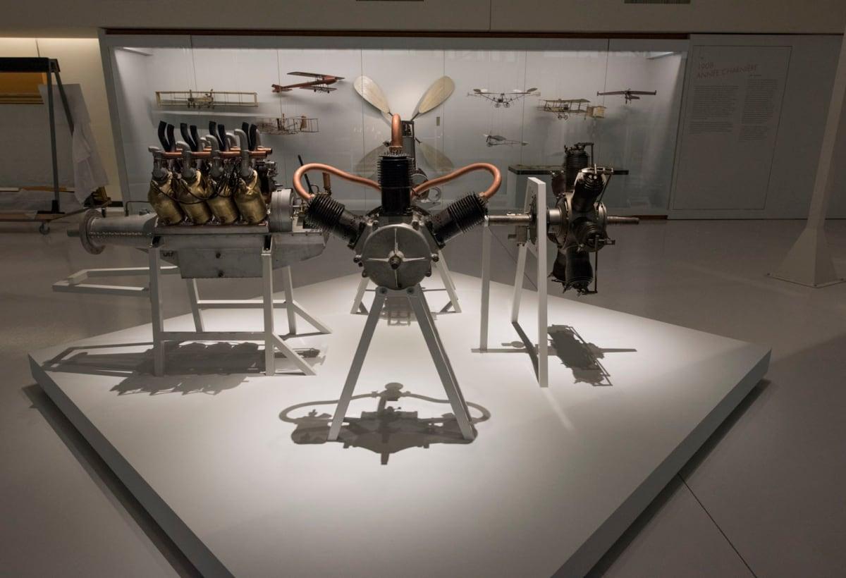 La Grande Galerie du Musée de l'air et de l'espace : trois semaines avant son inauguration