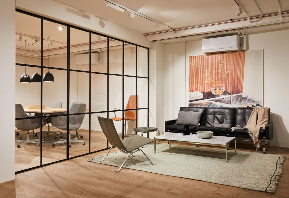 Fritz Hansen showroom in London Clerkenwell 2020 (12)